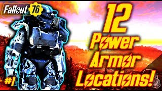 ALL Power Armor Locations In Fallout 76 PART 1 (UNLIMITED FUSION CORES)