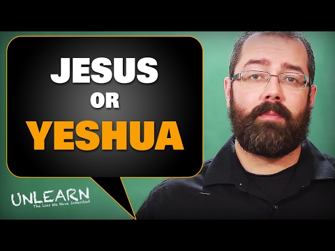 How Yeshua became Jesus (Greek Jesus vs Hebrew Yeshua) - UNLEARN the lies
