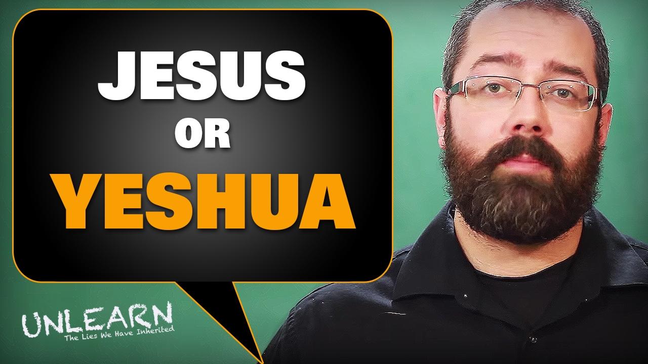 How Yeshua became Jesus (Greek Jesus vs Hebrew Yeshua)