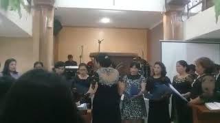Pada Satu Bukit Jauh Dari Sini (Paduan Suara Kaum Ibu +Hamba Tuhan GPI Bandung Timur)