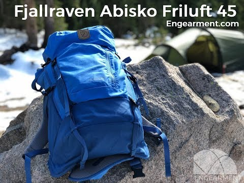 wide range good texture buy cheap Fjallraven Abisko Friluft 45 Backpack Review - YouTube