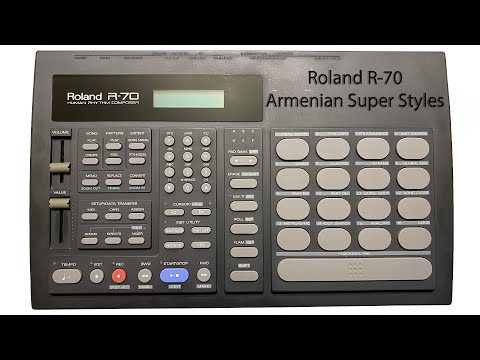 Roland R-70 Armenian Super Styles