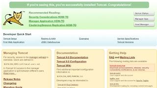 Tomcat 9 web server  Installation windows
