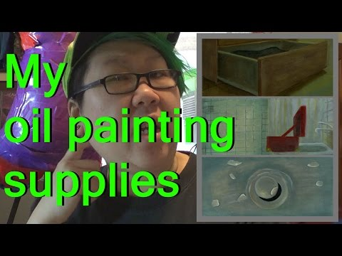 My Oil Painting Supplies