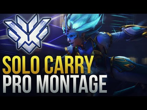 When Pros Solo Carry #5 - Overwatch Montage