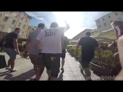 , Российский фанат снял беспорядки и драки в Марселе «от первого лица», LIKE-A.RU