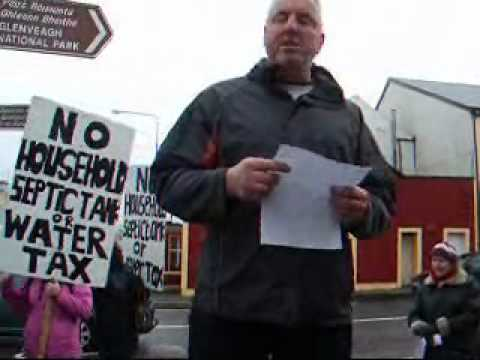 Weekly Protest in An Fál Carrach - 20 Jan 2012