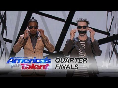 Tape Face   Quarter-Finals   America's Got Talent 2016