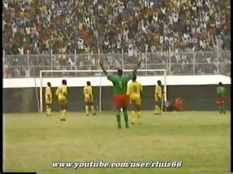 Camarões 3 x 1 Zimbabwe - 1993