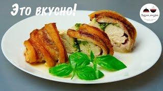 Курица с соусом песто  Нежное сочное мясо   незабываемый вкус! Chicken with pesto