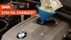 BMW $150 Oil Changes!? The True Cost of Ownership