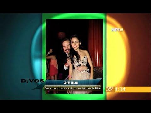 Divos - Sofía Telch se va con su papá por escándalos de Ninel