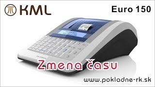 Zmena času - pokladnica Euro 150