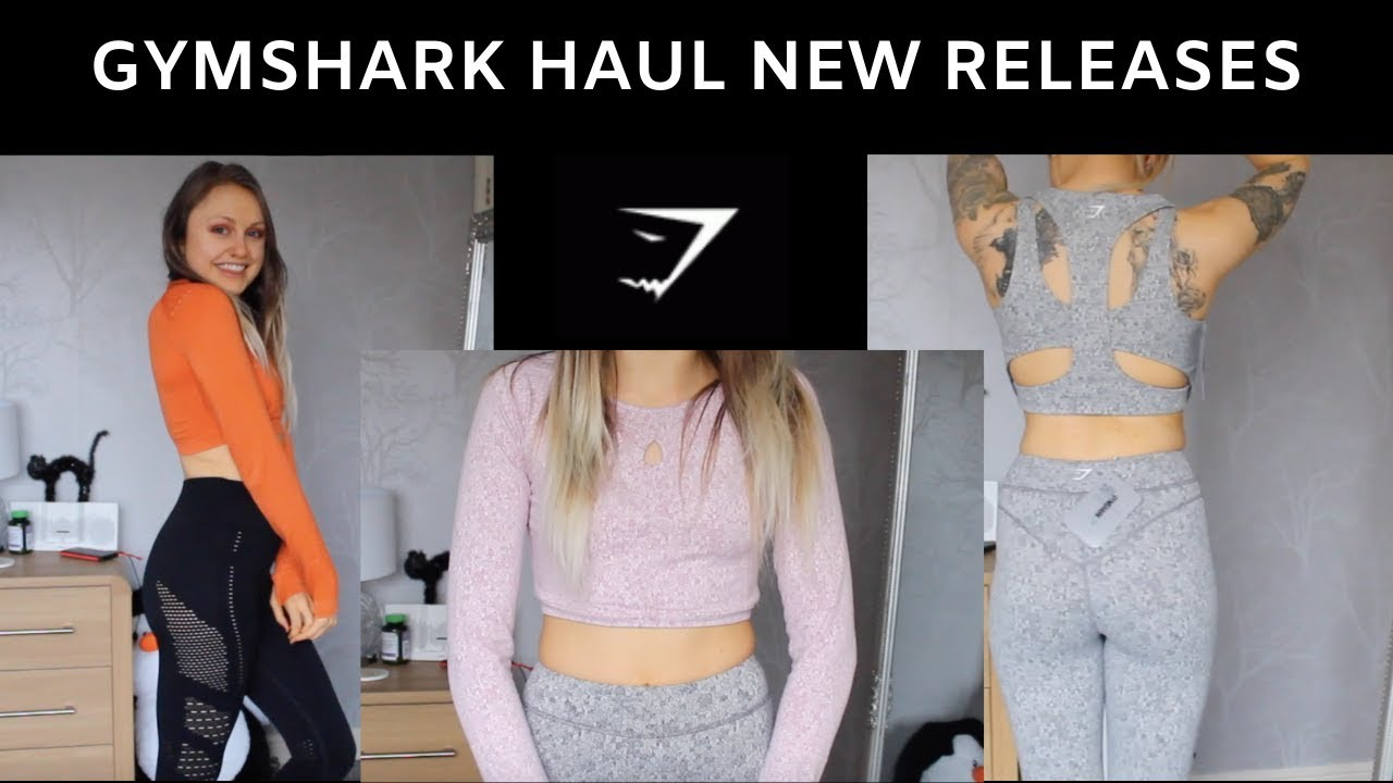 18325ff7a3be2 Gymshark Haul New Releases (in LOVE
