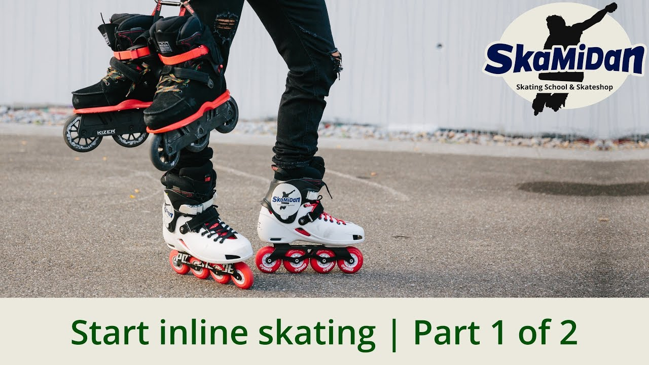 Inline Skating How To Brake And Stop 7 Ways Without A Heel Brake Fitness Inline Basics 02 Youtube