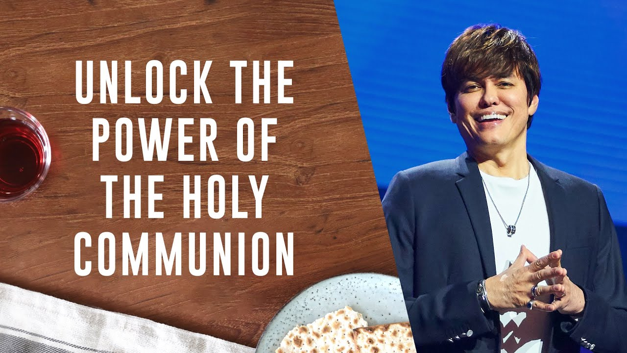 Unlock the Power of the Holy Communion | Joseph Prince on TBN Praise