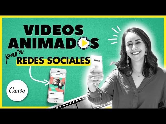 Cómo crear VIDEOS ANIMADOS (GRATIS) en CANVA para redes sociales