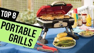 8 Best Portable Grills Reviews