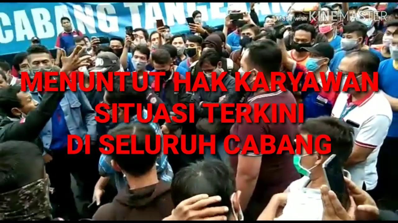 BERITA HARI INI  DEMO MENUNTUT HAK KARYAWAN!! - YouTube
