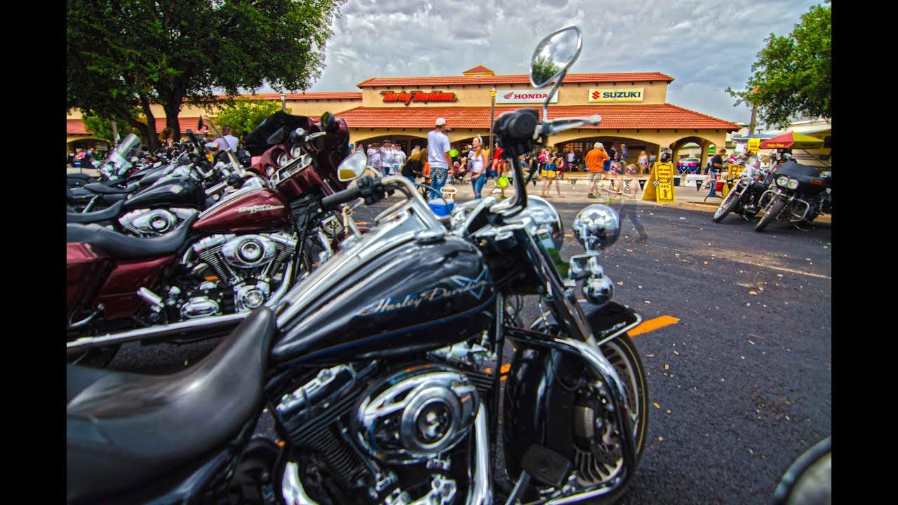Kentu0027s Harley Davidson, Party On The Patio