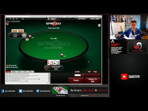 www.iJustGamble.tv - playing online poker on PokerStars
