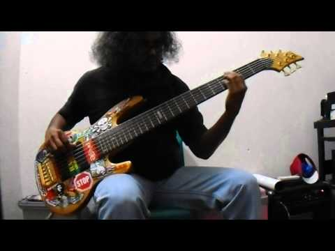 The Kovenant -  Bizarre Cosmic Industries (bass cover) solo