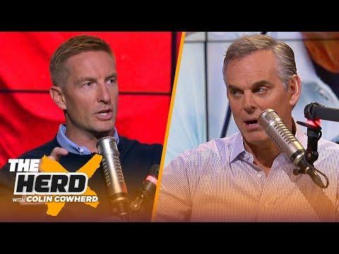 Joel Klatt explains why 2 SEC teams may end up in the playoffs, talks Joe Burrow | CFB | THE HERD