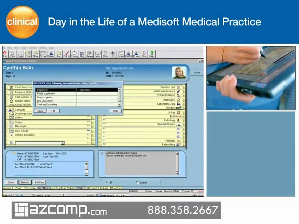 Medisoft Clinical Demo Training
