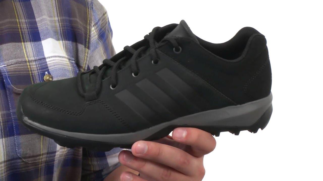 adidas Outdoor Daroga Plus Mid Leather SKU:8536281 - YouTube