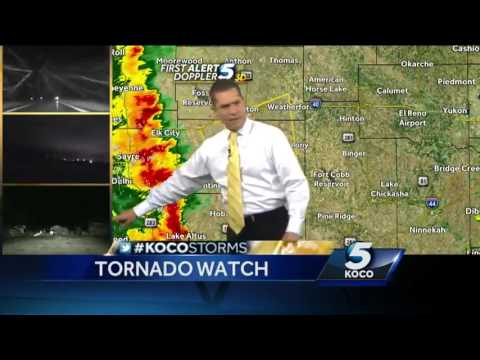 Severe weather continues to roll toward OKC metro