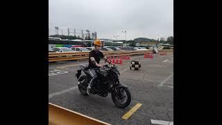 오토바이 2종 소형 면허 합격!