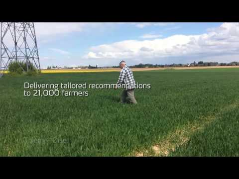 Precision Farming: Using the N-Tester in France