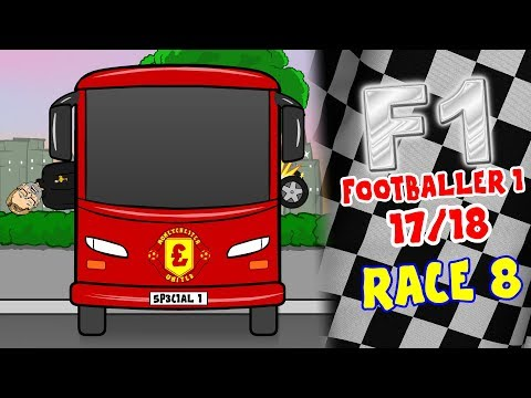 🏁FOOTBALLER 1🏁#8 Premier League Wacky Races (Man City 7-2 Stoke, Liverpool 0-0 Man Utd)