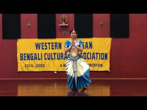 Saraswati Puja 2018 - Dance on Saraswati Vandana by Trisha Paul