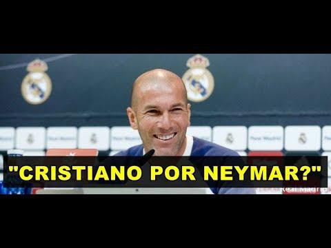CRISTIANO POR NEYMAR? Olha o Que Zidane Falou Sobre Possivel Negociação do Real Madrid! thumbnail
