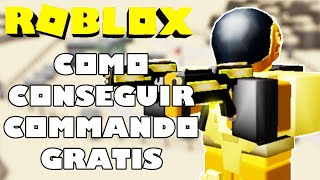 HOW TO GET COMMANDO IN TOWER DEFENSE SIMULATOR - ROBLOX EVENT