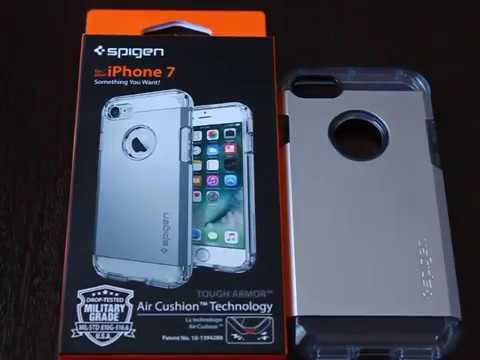 online store 5d0ce 46b96 Spigen Tough Armor Satin Silver for iPhone 7 Review