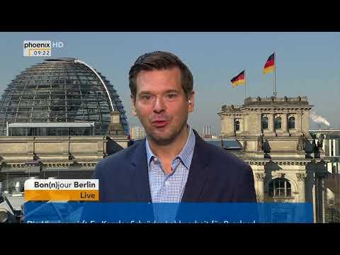 Bon(n)jour Berlin mit Gregor Peter Schmitz am 19.03.2018
