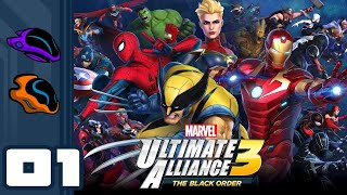 Let's Play Marvel Ultimate Alliance 3: The Black Order - Switch Gameplay Part 1 - Everyone Assemble!