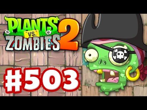 Plants vs. Zombies 2 - Gameplay Walkthrough Part 503 - Pirate Pinatas! (iOS)