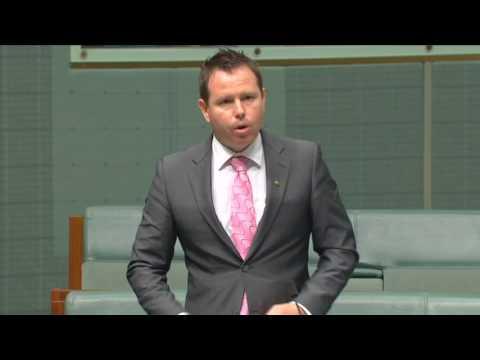 Dane Huxley remembered in the Hansard of the Australian parliament
