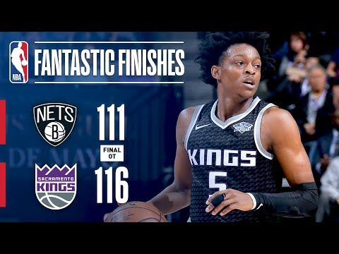 The Nets and Kings Play a Tight Game Into Overtime | March 1, 2018