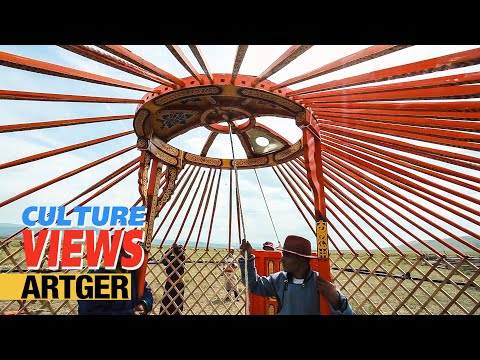 This Is How We Build Our Yurt - Mongolian Traditional New Yurt (Ger) Ceremony | VIEWS