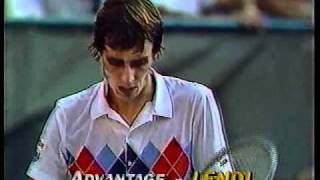 Lendl vs McEnroe Semi Final - US Open 1982 - 08/12