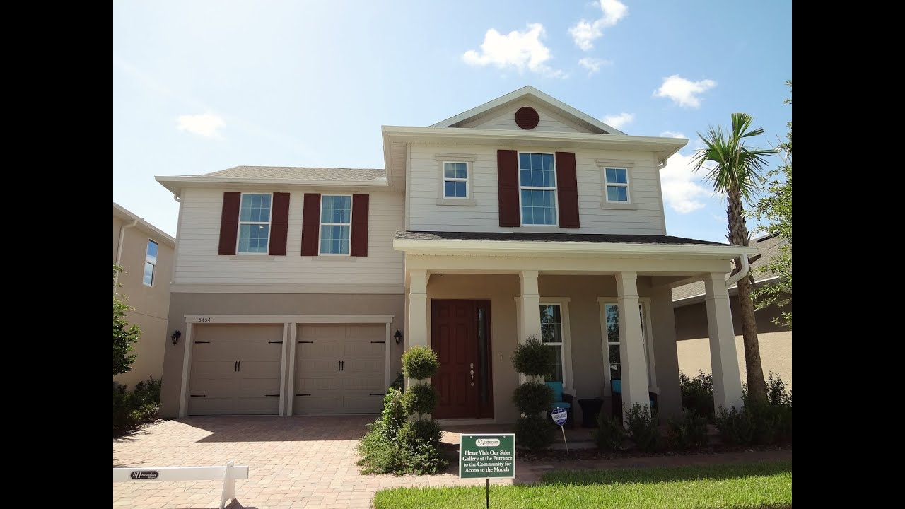 winter garden new homes the highlands at summerlake groves harper model. beautiful ideas. Home Design Ideas