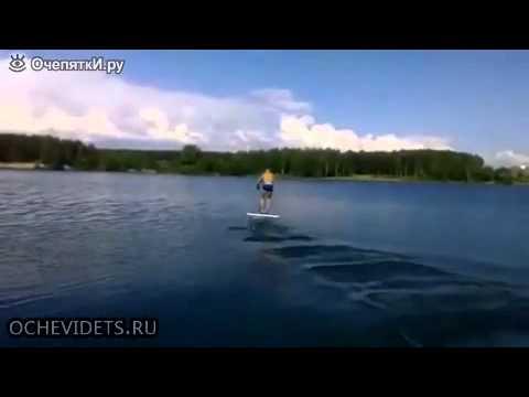 Нереальный водный самокат