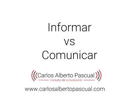 Informar vs Comunicar