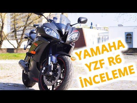 Yamaha YZF R6 İnceleme (2008)