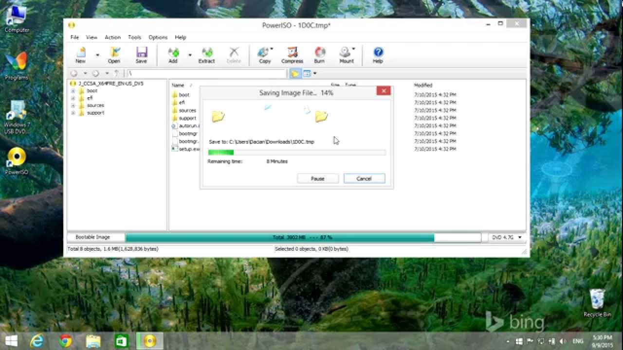 Windows 10: \u0026quot;Please select a valid iso file\u0026quot; Error Solved - YouTube