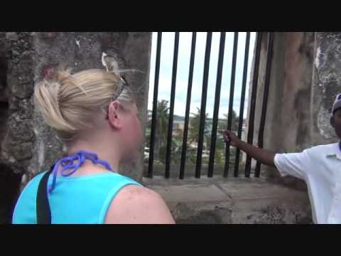 Tour of Fort Jesus Mombasa Kenya Africa